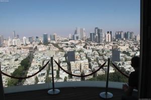 Вид на Тель-Авив с 18 этажа