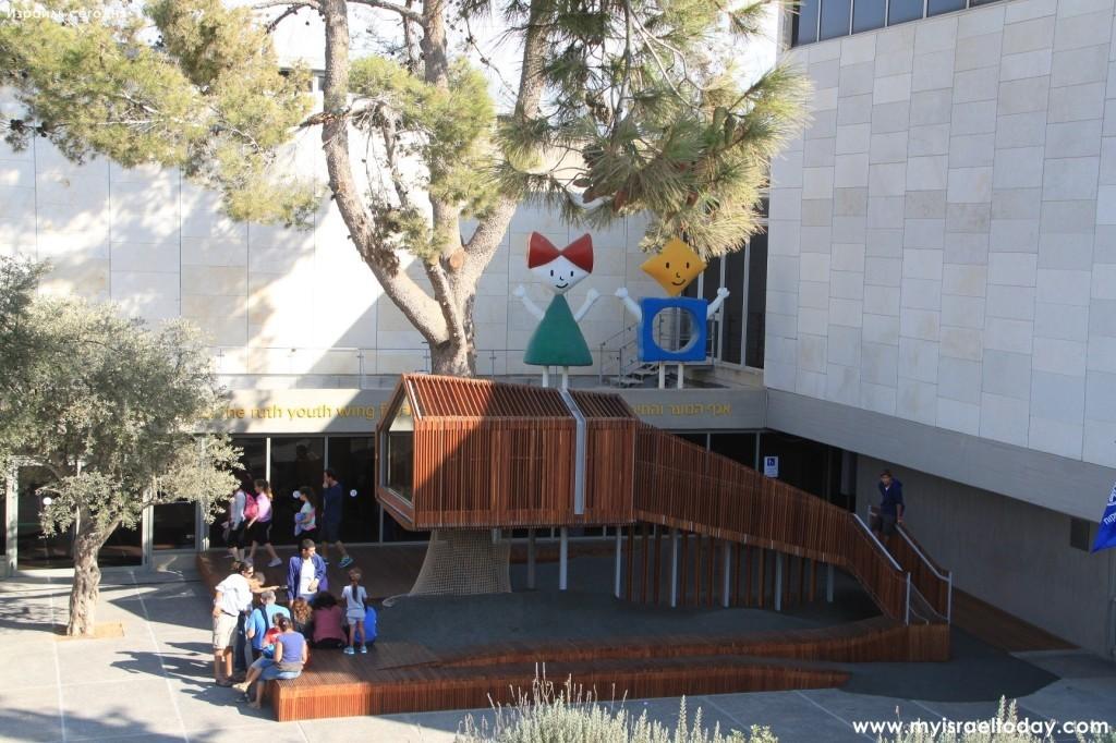 Детский отдел музея Израиля