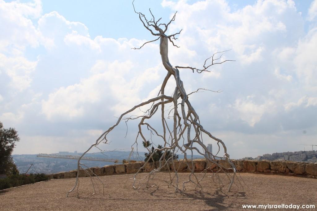 Дерево корнями вверх