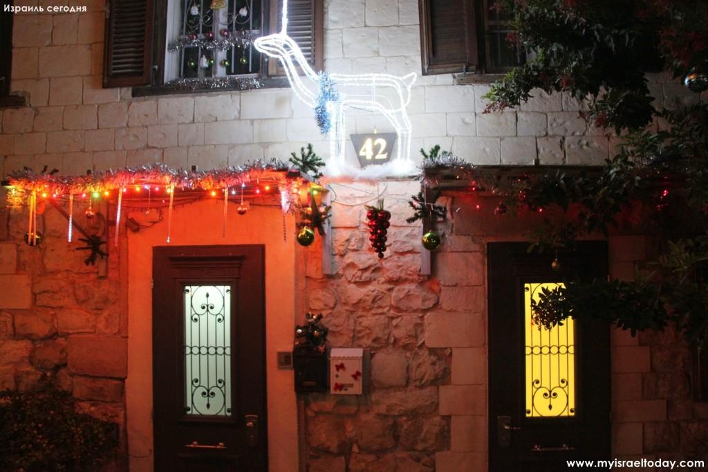 Новогодняя Хайфа