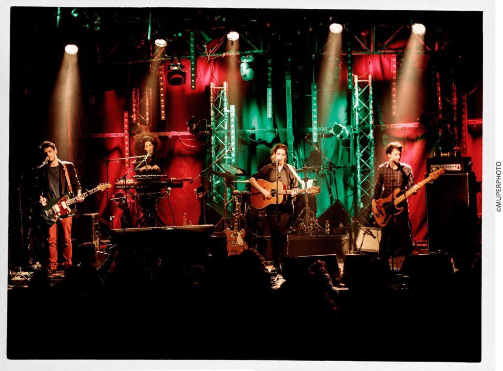 Концерт Даниэла Спектор, на сцене клуба Барби