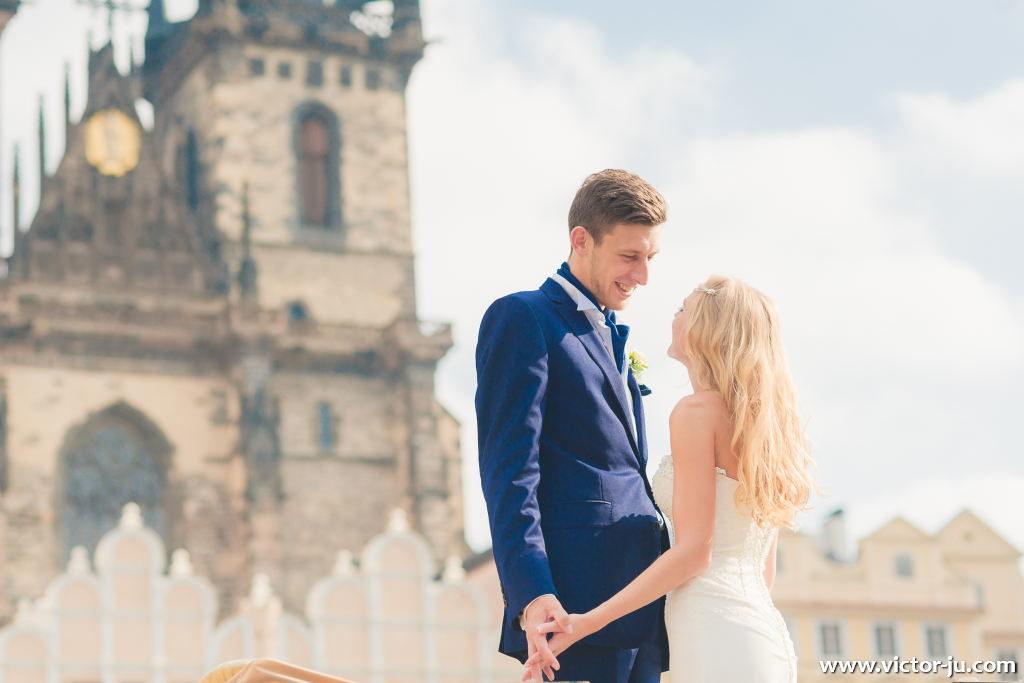 Свадьба в Праге для Израиля