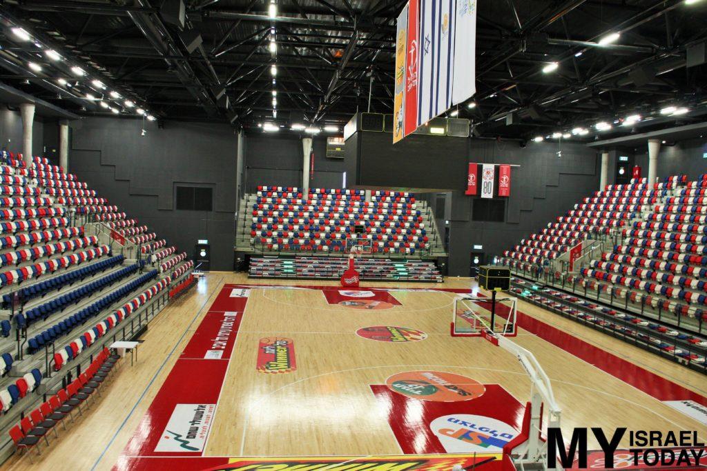 Баскетбольная площадка стадиона ТА
