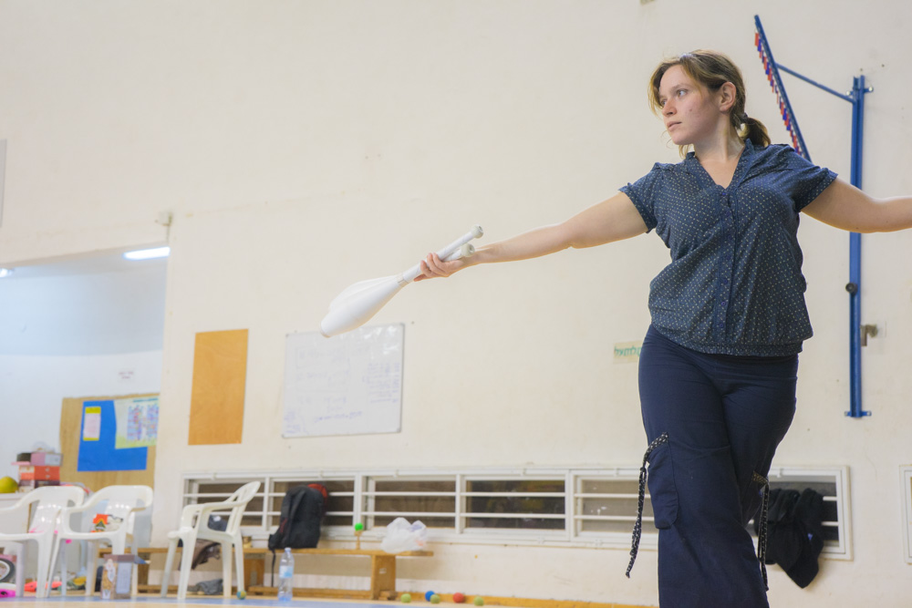 жонглеры израиль