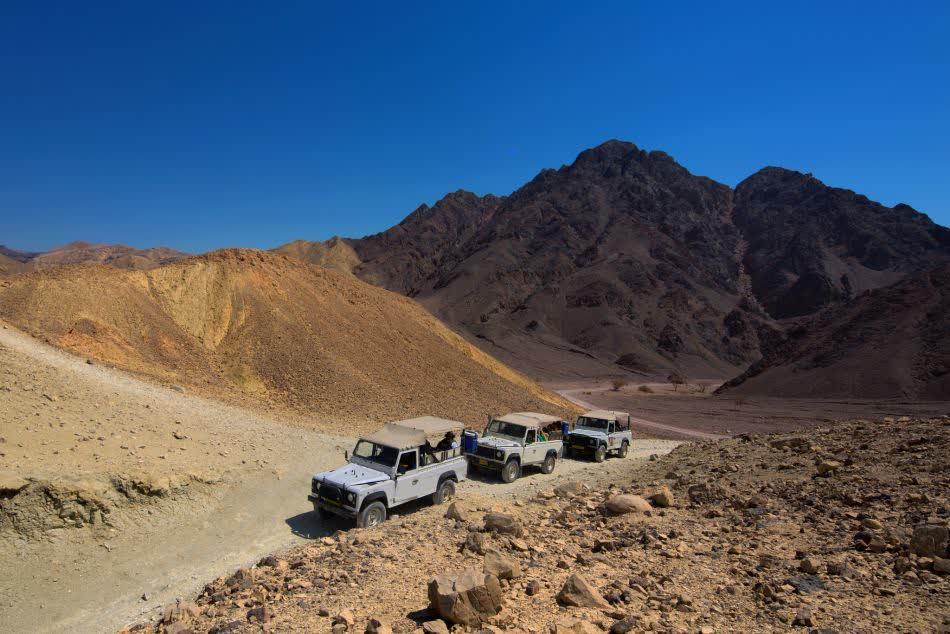 Чем заняться в Эйлате. Сафари на джипах по пустыне