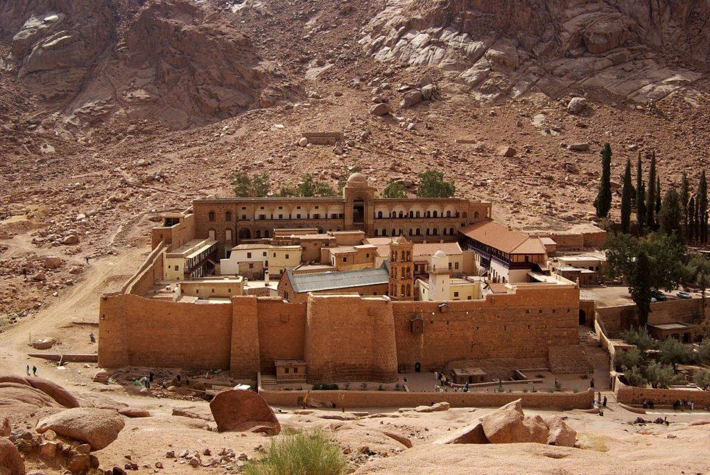 Чем заняться в Эйлате. Синай, монастырь св. Екатерины