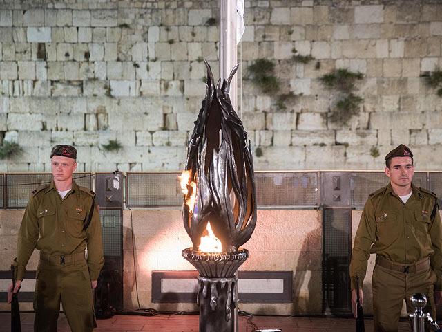 Сирена в день Памяти в Израиле