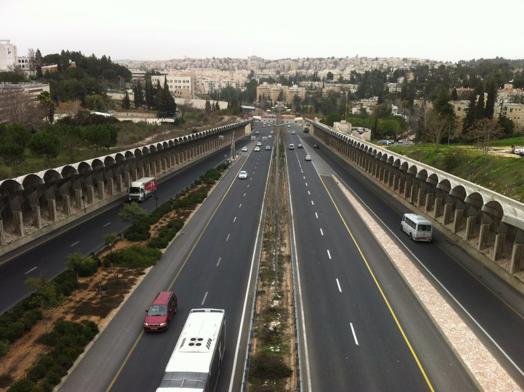 Правила дорожного движения в Израиле