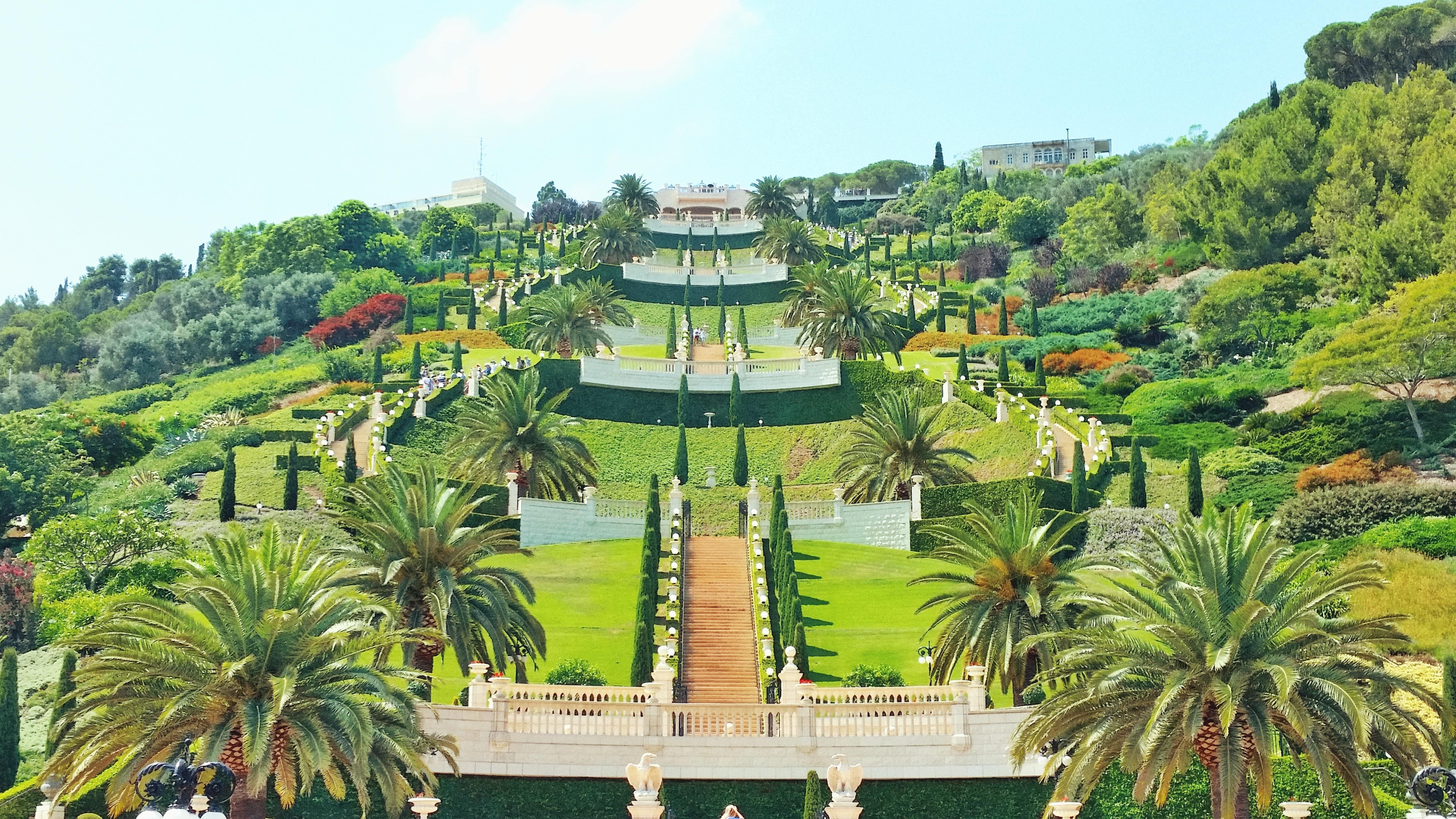 Бахайские сады Хайфа